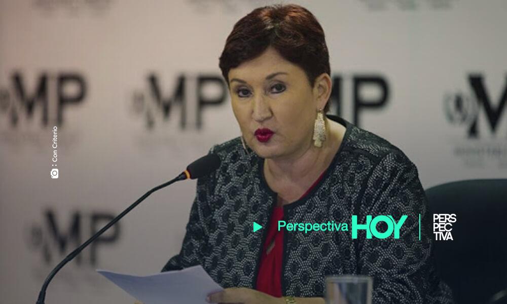 Thelma Aldana pesé a ser prófuga, será querellante en caso contra Mario Estrada