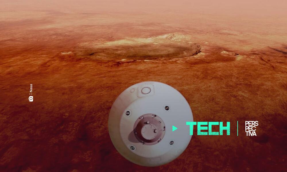 primer video y nuevas imágenes del Perseverance en Marte