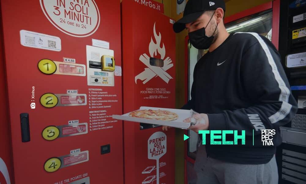 máquina de Mr. Go Pizza