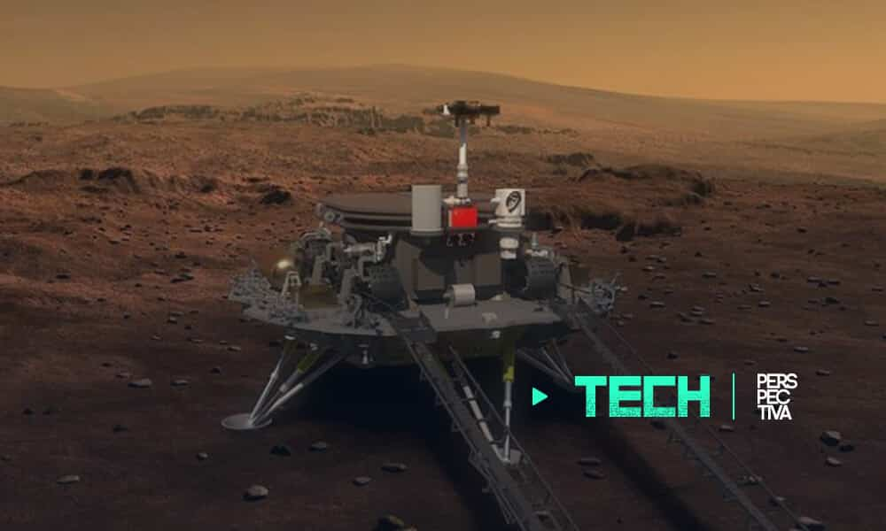 China busca posar robot teleguiado en Marte