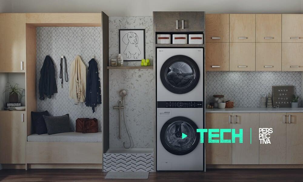 LG Washtower una experiencia única en lavandería