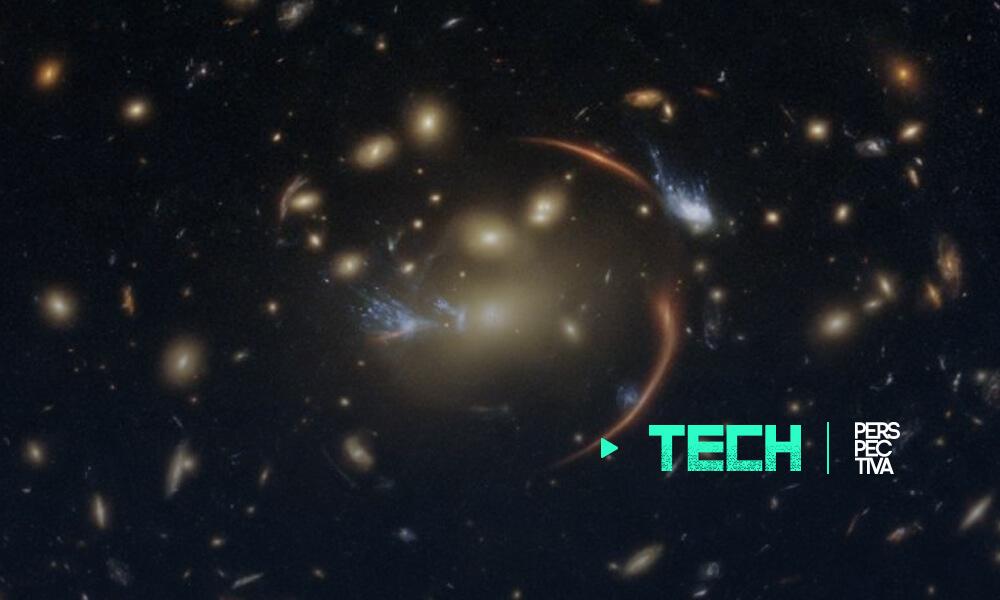 El Hubble observa una galaxia lejana a través de una lente cósmica