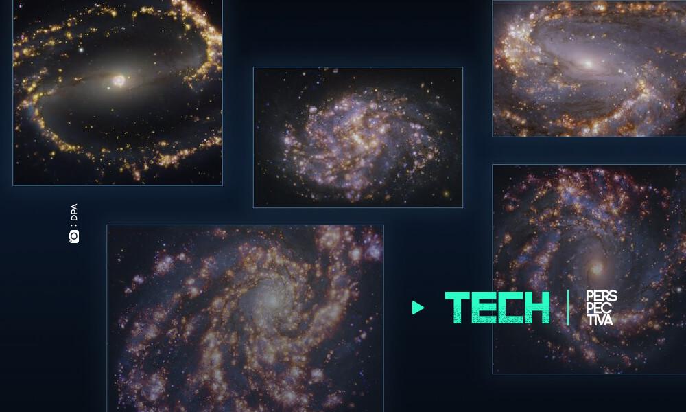"""""""Fuegos artificiales"""" galácticos brindan nuevos datos sovre formación de estrellas"""