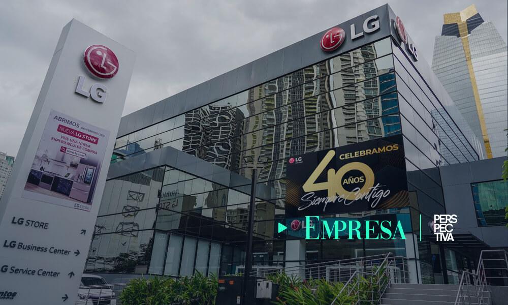 LG Electronics celebra sus 40 años de innovación y tecnología en Latinoamérica