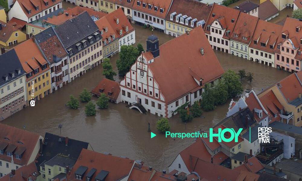 Aumentan a 160 los fallecidos por las inundaciones en Alemania y Bélgica