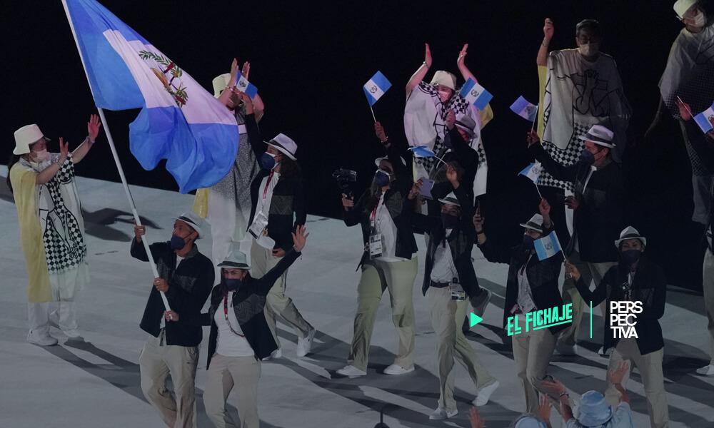 Delegación de Guatemala celebra inauguración de Tokio 2020