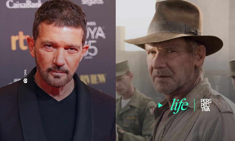 Antonio Banderas se une a Indiana Jones 5 juntó a Harrison Ford