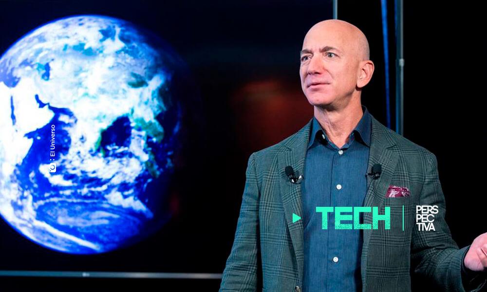 Jeff Bezos visita el espacio con su propio cohete
