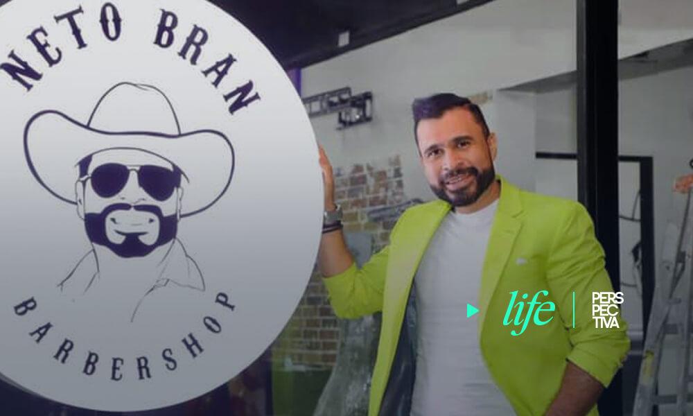 """Neto Bran """"cumple su sueño de abrir una barbería"""""""