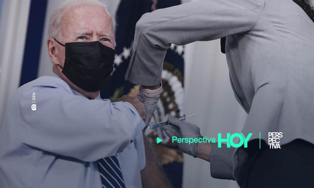 Biden recibe la tercera dosis de la vacuna contra la COVID-19
