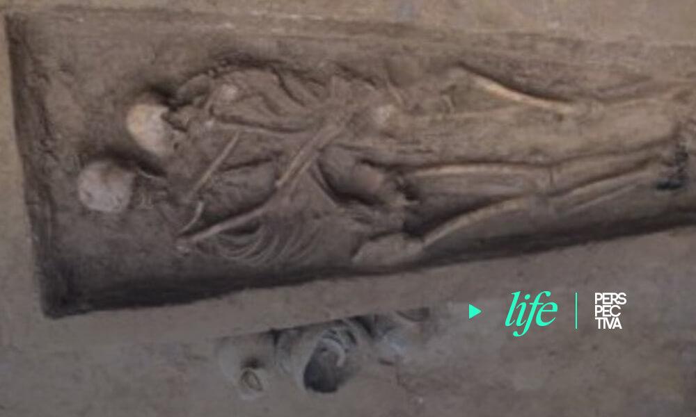 Un entierro en pareja de 1.500 años en China dejó huella de su amor