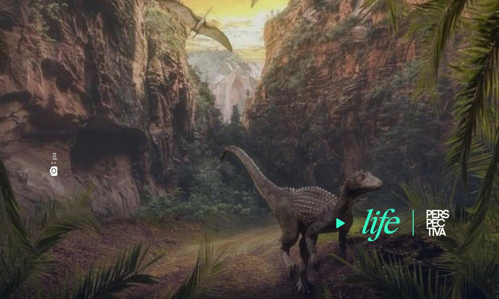 Los volcanes favorecieron el ascenso de los dinosaurios