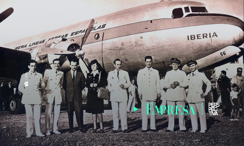 Iberia celebra el 75 aniversario de sus vuelos con América Latina
