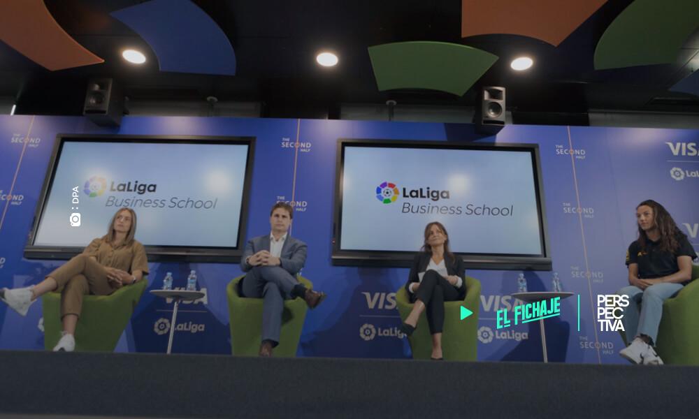 Visa y LaLiga lanzan formación para que las futbolistas desarrollen una carrera profesional