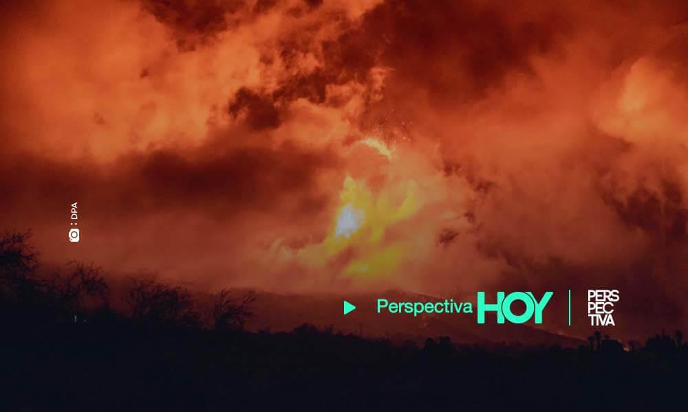 El volcán de La Palma sigue en fase explosiva: aparece una nueva colada y las cenizas llegan a La Gomera
