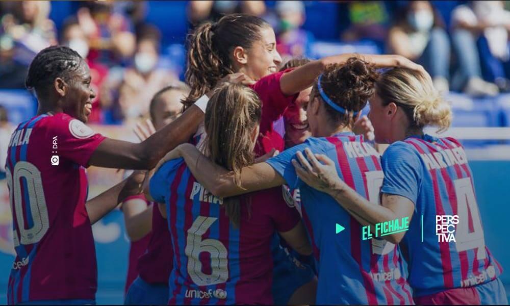 Champions femenino- FC Barcelona golea al Arsenal